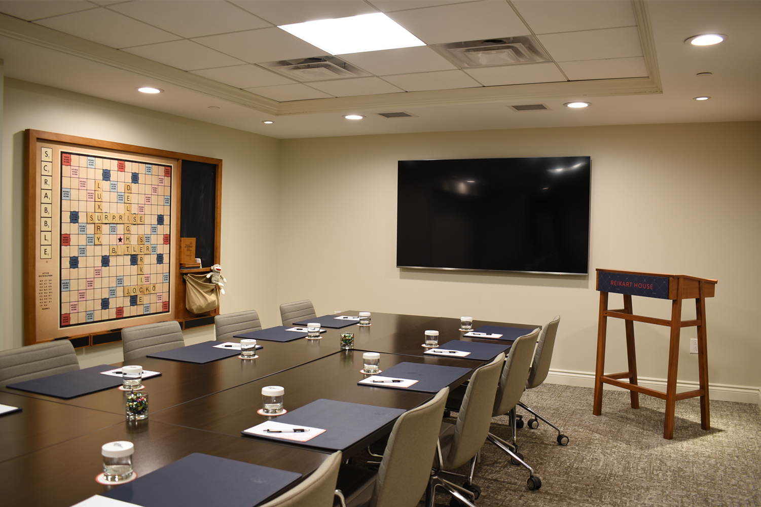 Conference room at Reikart House